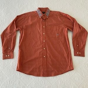 Ariat Western Button Down Shirt